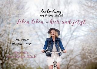 Einladung zum Frauenfrühstück mit Heidi Krause-Frische